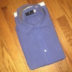 NWT ✨ Saks 5th Avenue Men's Dress Shirt 17.5-34